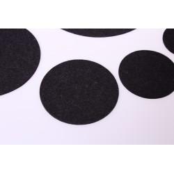 Klangschalenpad aus Merino-Wollfilz 8 cm, anthzit