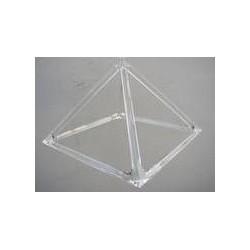 Kristallpyramide von Dieter Schrade 280 g 200 mm KP 200 geschliffen