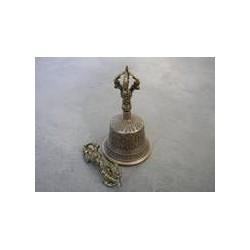"""Tibetische Tempelglocken Größe """"S"""" mit Dorje"""