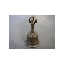 """Tibetische Tempelglocken Größe """"M"""" mit Dorje"""
