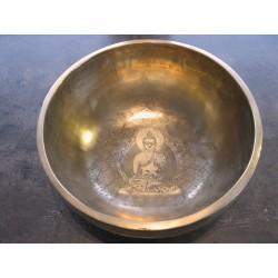 Tibet-Klangschalen mit Gravur