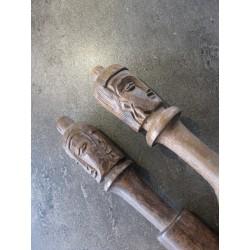 Holz mit Buddha