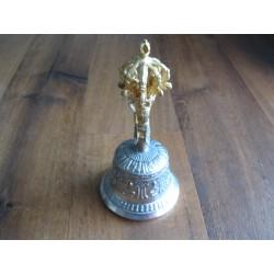 "Tibetische Tempelglocken Größe ""XL"" Zinn"
