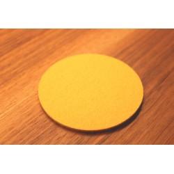 10 cm Klangschalen-Pad aus Merino-Wollfilz, gelb